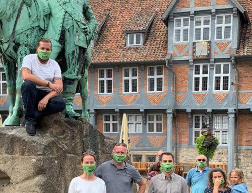 """Statement der BUW zu Maskenpflicht-Schilder in der Innenstadt überklebt – keine Toleranz für """"Querdenker"""""""