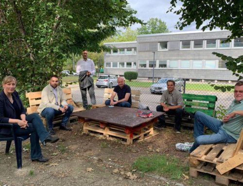 Mitglieder besuchen die Stabsstelle Integration der Stadt Wolfenbüttel